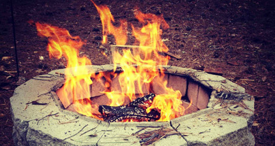 Make Your Own Fire Pit At Home
